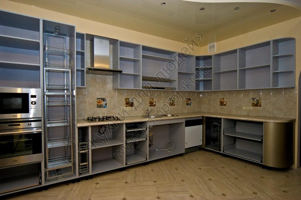 Много угловые кухни мдф для фасада кухонного гарнитура